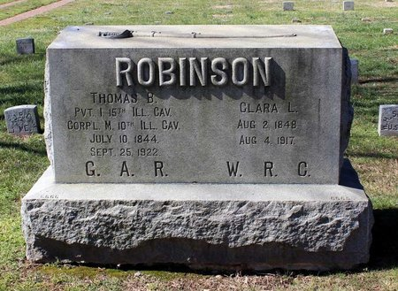 ROBINSON, THOMAS B. - Fredericksburg (City of) County, Virginia | THOMAS B. ROBINSON - Virginia Gravestone Photos