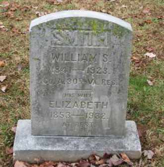SMITH, ELIZABETH - Fredericksburg (City of) County, Virginia | ELIZABETH SMITH - Virginia Gravestone Photos