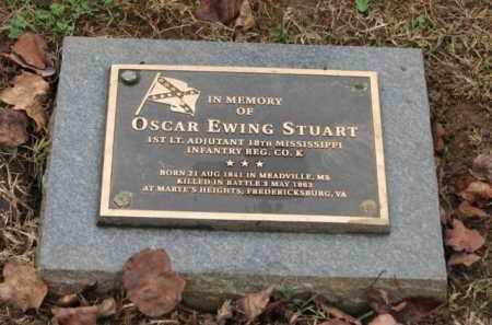 STUART (CW), OSCAR EWING - Fredericksburg (City of) County, Virginia | OSCAR EWING STUART (CW) - Virginia Gravestone Photos