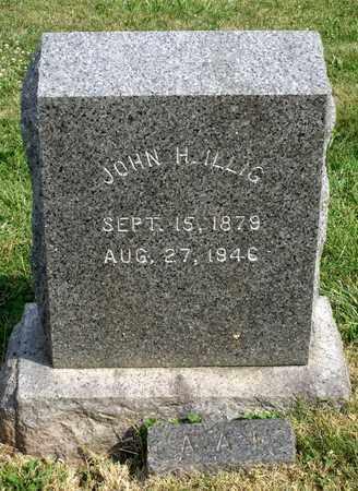 ILLIG, JOHN H. - Lexington (City of) County, Virginia   JOHN H. ILLIG - Virginia Gravestone Photos