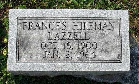 LAZZELL, FRANCES - Lexington (City of) County, Virginia | FRANCES LAZZELL - Virginia Gravestone Photos