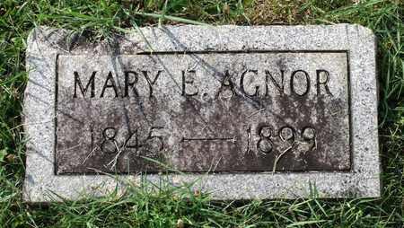 AGNOR, MARY E. - Lexington (City of) County, Virginia | MARY E. AGNOR - Virginia Gravestone Photos