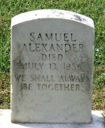 ALEXANDER, SAMUEL - Lexington (City of) County, Virginia | SAMUEL ALEXANDER - Virginia Gravestone Photos