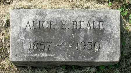 BEALE, ALICE E. - Lexington (City of) County, Virginia   ALICE E. BEALE - Virginia Gravestone Photos