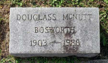 BOSWORTH, DOUGLASS MCNUTT - Lexington (City of) County, Virginia | DOUGLASS MCNUTT BOSWORTH - Virginia Gravestone Photos