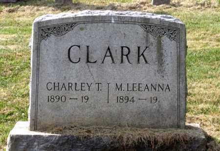 CLARK, M. LEEANNA - Lexington (City of) County, Virginia | M. LEEANNA CLARK - Virginia Gravestone Photos