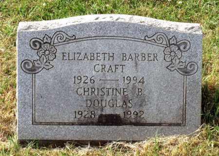 BARBER DOUGLAS, CHRISTINE - Lexington (City of) County, Virginia | CHRISTINE BARBER DOUGLAS - Virginia Gravestone Photos