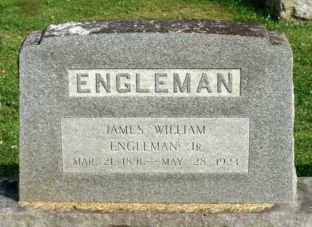 ENGLEMAN, JAMES WILLIAM JR. - Lexington (City of) County, Virginia   JAMES WILLIAM JR. ENGLEMAN - Virginia Gravestone Photos