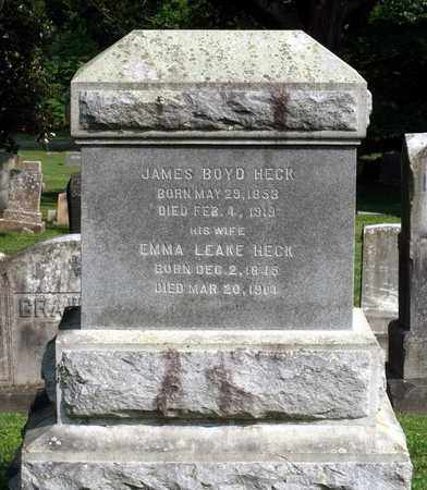 HECK, EMMA - Lexington (City of) County, Virginia | EMMA HECK - Virginia Gravestone Photos