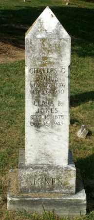JONES, CHARLES O. - Lexington (City of) County, Virginia | CHARLES O. JONES - Virginia Gravestone Photos