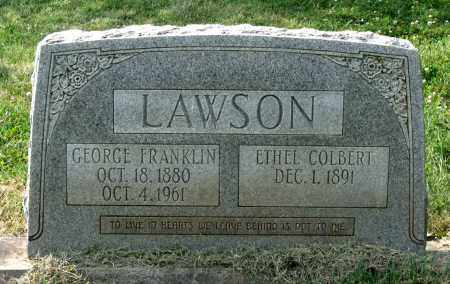 COLBERT LAWSON, ETHEL - Lexington (City of) County, Virginia | ETHEL COLBERT LAWSON - Virginia Gravestone Photos