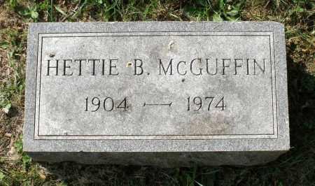 MCGUFFIN, HETTIE B. - Lexington (City of) County, Virginia | HETTIE B. MCGUFFIN - Virginia Gravestone Photos