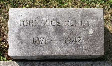 MCNUTT, JOHN RICE - Lexington (City of) County, Virginia   JOHN RICE MCNUTT - Virginia Gravestone Photos