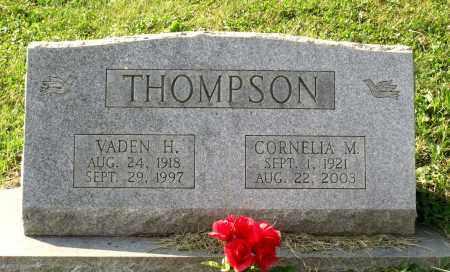 THOMPSON, VADEN H. - Lexington (City of) County, Virginia | VADEN H. THOMPSON - Virginia Gravestone Photos
