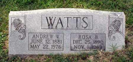 WATTS, ROSA B. - Lexington (City of) County, Virginia | ROSA B. WATTS - Virginia Gravestone Photos