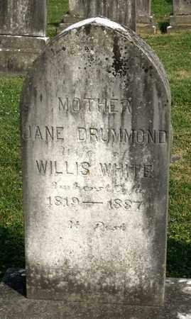 DRUMMOND WHITE, JANE - Lexington (City of) County, Virginia   JANE DRUMMOND WHITE - Virginia Gravestone Photos