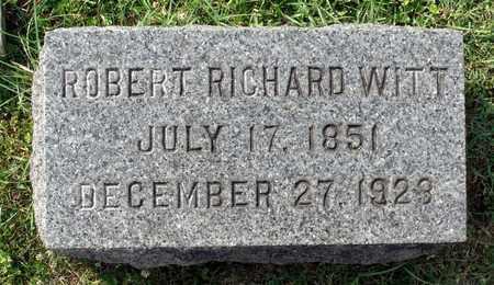 WITT, ROBERT RICHARD - Lexington (City of) County, Virginia | ROBERT RICHARD WITT - Virginia Gravestone Photos