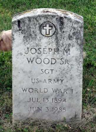 WOOD, JOSEPH M, SR. - Lexington (City of) County, Virginia | JOSEPH M, SR. WOOD - Virginia Gravestone Photos