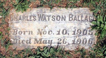 BALLAGH, CHARLES W. - Lynchburg (City of) County, Virginia | CHARLES W. BALLAGH - Virginia Gravestone Photos