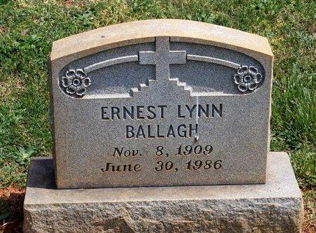 BALLAGH, ERNEST LYNN - Lynchburg (City of) County, Virginia | ERNEST LYNN BALLAGH - Virginia Gravestone Photos