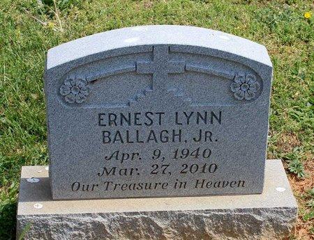 BALLAGH, ERNEST LYNN JR. - Lynchburg (City of) County, Virginia   ERNEST LYNN JR. BALLAGH - Virginia Gravestone Photos
