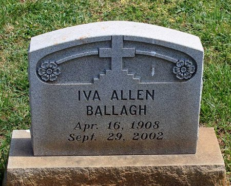 BALLAGH, IVA - Lynchburg (City of) County, Virginia   IVA BALLAGH - Virginia Gravestone Photos
