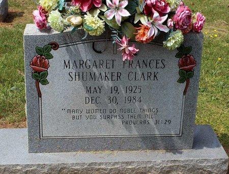 SHUMAKER CLARK, MARGARET FRANCES - Lynchburg (City of) County, Virginia | MARGARET FRANCES SHUMAKER CLARK - Virginia Gravestone Photos