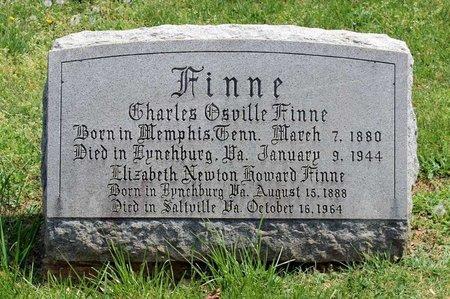 FINNE, ELIZABETH NEWTON - Lynchburg (City of) County, Virginia | ELIZABETH NEWTON FINNE - Virginia Gravestone Photos
