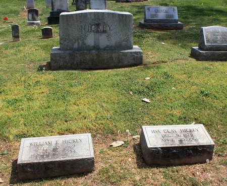 HICKEY, IDA - Lynchburg (City of) County, Virginia | IDA HICKEY - Virginia Gravestone Photos