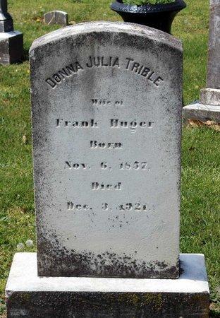 HUGER, DONNA JULIA - Lynchburg (City of) County, Virginia | DONNA JULIA HUGER - Virginia Gravestone Photos
