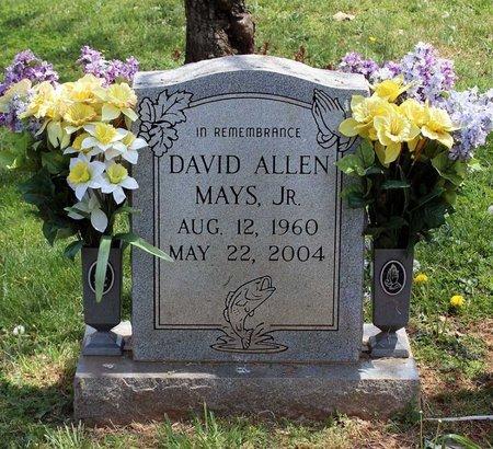 MAYS, DAVID ALLEN - Lynchburg (City of) County, Virginia | DAVID ALLEN MAYS - Virginia Gravestone Photos