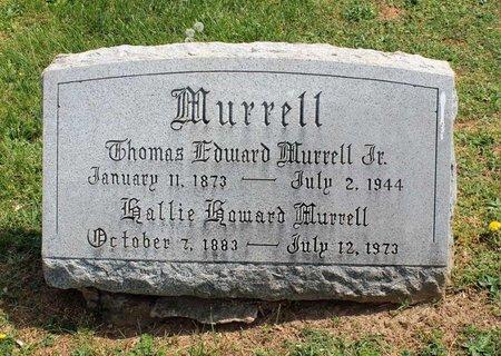 MURRELL, HALLIE - Lynchburg (City of) County, Virginia | HALLIE MURRELL - Virginia Gravestone Photos