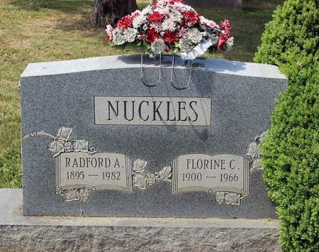 NUCKLES, FLORINE C. - Lynchburg (City of) County, Virginia | FLORINE C. NUCKLES - Virginia Gravestone Photos