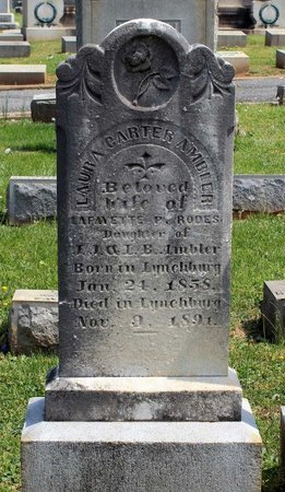 AMBLER RODES, LAURA CARTER - Lynchburg (City of) County, Virginia | LAURA CARTER AMBLER RODES - Virginia Gravestone Photos