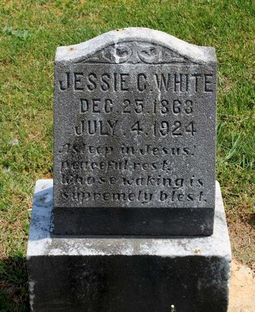 WHITE, JESSIE C. - Lynchburg (City of) County, Virginia | JESSIE C. WHITE - Virginia Gravestone Photos