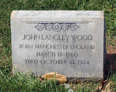 WOOD, JOHN LANGLEY - Lynchburg (City of) County, Virginia   JOHN LANGLEY WOOD - Virginia Gravestone Photos