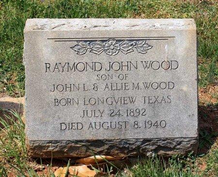 WOOD, RAYMOND JOHN - Lynchburg (City of) County, Virginia | RAYMOND JOHN WOOD - Virginia Gravestone Photos