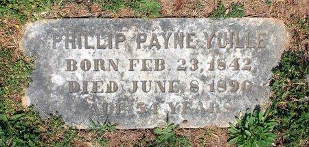 YUILLE, PHILLIP PAYNE - Lynchburg (City of) County, Virginia | PHILLIP PAYNE YUILLE - Virginia Gravestone Photos