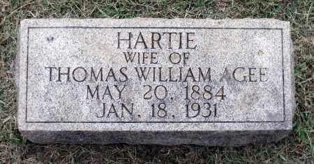 AGEE, HARTIE MABE - Martinsville (City of) County, Virginia   HARTIE MABE AGEE - Virginia Gravestone Photos