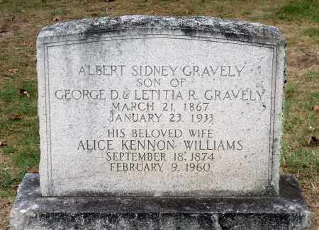 GRAVELY, ALBERT SIDNEY - Martinsville (City of) County, Virginia | ALBERT SIDNEY GRAVELY - Virginia Gravestone Photos