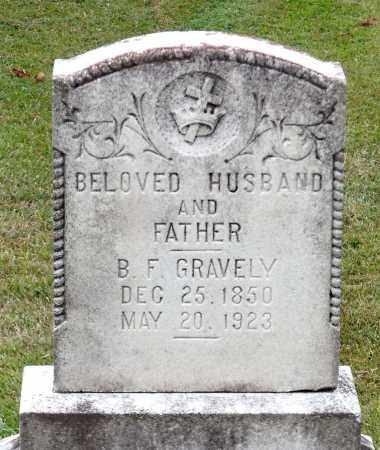 GRAVELY, BENJAMIN F. - Martinsville (City of) County, Virginia | BENJAMIN F. GRAVELY - Virginia Gravestone Photos