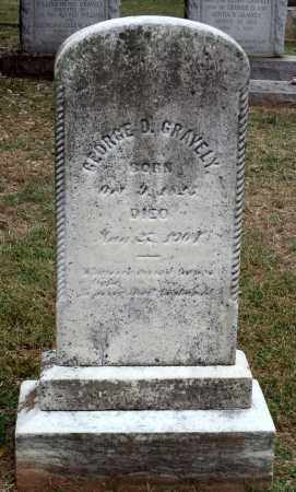 GRAVELY, GEORGE D. - Martinsville (City of) County, Virginia | GEORGE D. GRAVELY - Virginia Gravestone Photos