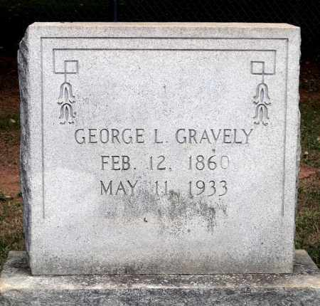 GRAVELY, GEORGE L. - Martinsville (City of) County, Virginia | GEORGE L. GRAVELY - Virginia Gravestone Photos
