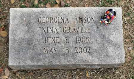 GRAVELY, GEORGINA - Martinsville (City of) County, Virginia | GEORGINA GRAVELY - Virginia Gravestone Photos