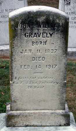GRAVELY, JOHN WILLIAM - Martinsville (City of) County, Virginia | JOHN WILLIAM GRAVELY - Virginia Gravestone Photos
