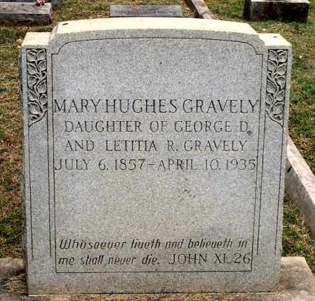GRAVELY, MARY HUGHES - Martinsville (City of) County, Virginia | MARY HUGHES GRAVELY - Virginia Gravestone Photos
