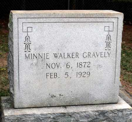 GRAVELY, MINNIE - Martinsville (City of) County, Virginia | MINNIE GRAVELY - Virginia Gravestone Photos