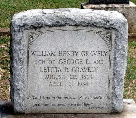 GRAVELY, WILLIAM HENRY - Martinsville (City of) County, Virginia | WILLIAM HENRY GRAVELY - Virginia Gravestone Photos