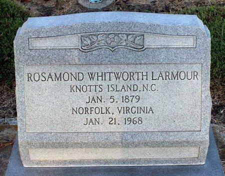 WHITWORTH LARMOUR, ROSAMOND - Norfolk (City of) County, Virginia | ROSAMOND WHITWORTH LARMOUR - Virginia Gravestone Photos