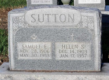 SUTTON, HELEN S. - Norfolk (City of) County, Virginia | HELEN S. SUTTON - Virginia Gravestone Photos